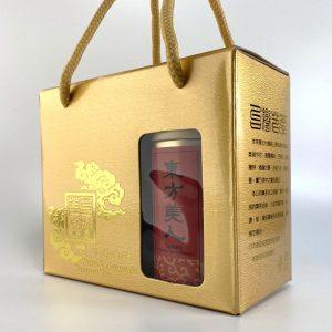 皂籽瓏禮盒:東方美人金箔皂