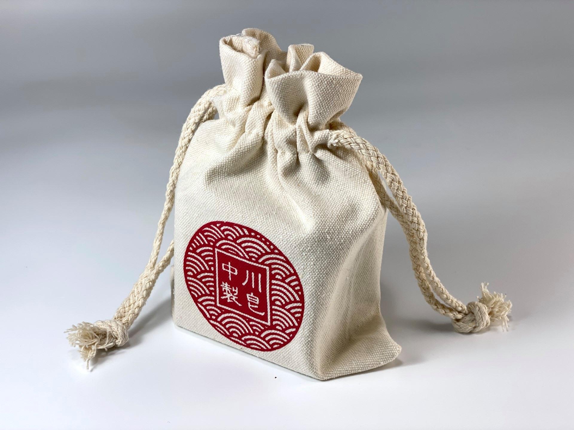 皂籽瓏與中川製皂之帆布袋